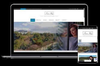 Creative Direction.one web development service innakay.blog desktop mobile view